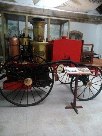 Museo Naval: Alter Löschzug