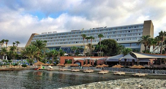 Amathus Beach Hotel Limassol : The hotel