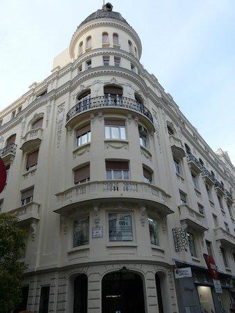 Hotel Atlantico: Историческое здание отеля
