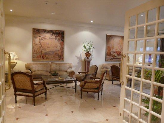 Hotel Atlantico: Комната отдыха на 9 этаже