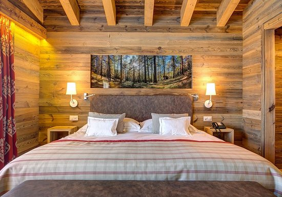 Hotel Nendaz 4 Vallees & Spa : Chambre
