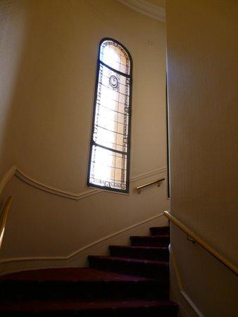 Hotel Atlantico: Лестница между этажами