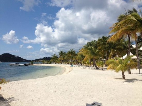 Mercure Saint-Martin Marina & Spa: The private beach