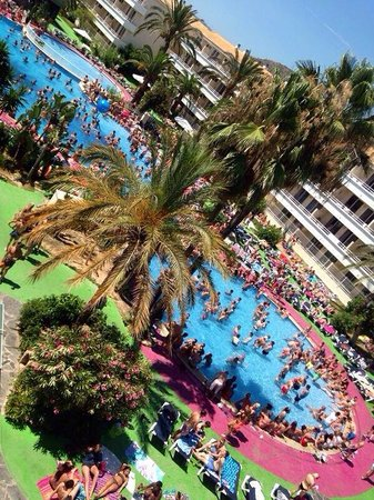 BH Mallorca: Kiss FM Pool Party, July 2014
