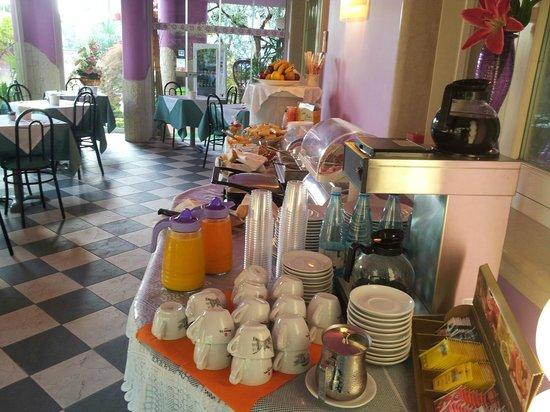 B&B Villa Lilla: sala colazioni