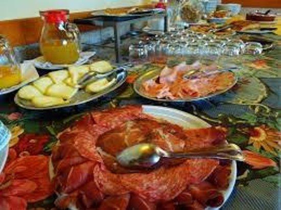 B&B Villa Lilla: colazioni