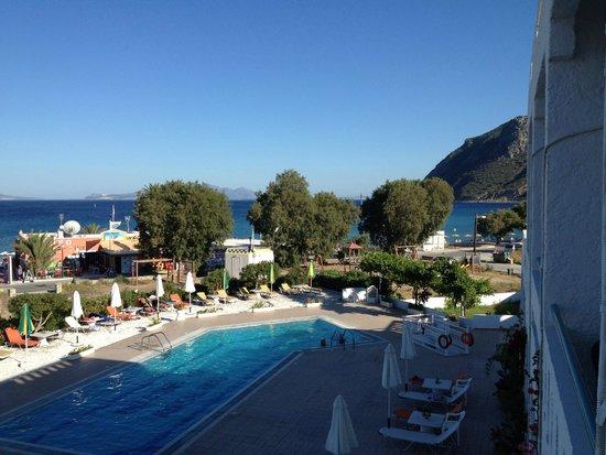 Kokalakis Beach Hotel: foto dalla camera secondo piano