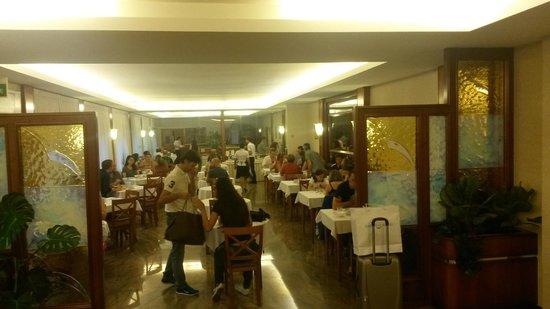 Euromotel Croce Bianca : Sala colazione