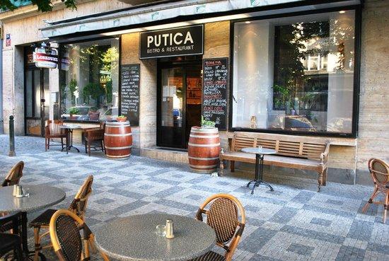 Photo of Bar PUTICA bistro & restaurant at Anglicka 81/24, Prague 120 00, Czech Republic