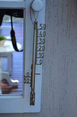 Pousada Doce Canela: Termômetro