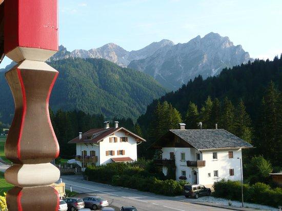 Hotel Edelweiß: Blick vom Balkon