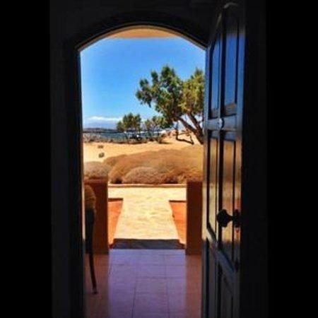 Zorbas Beach Village Hotel: Вид из номера