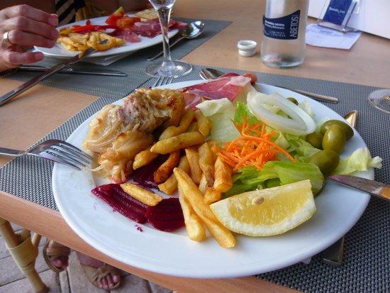Occidental Playa de Palma : выбор блюд отличный. Всё свежее и качественное