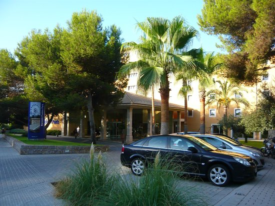 Occidental Playa de Palma : Территория отеля очень зеленая, ухоженная и ухоженная