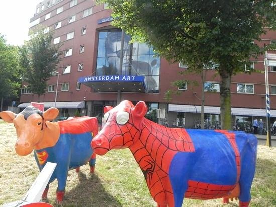 WestCord Art Hotel Amsterdam: westcord Art front
