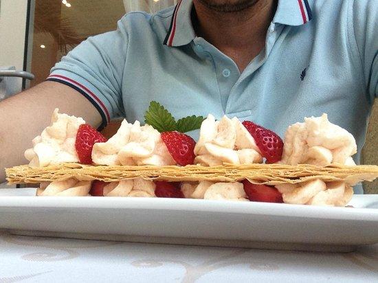 Hostellerie du Mont-Aime : Un dessert du jour