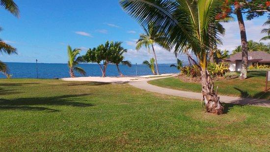Sheraton Fiji Resort: View from room