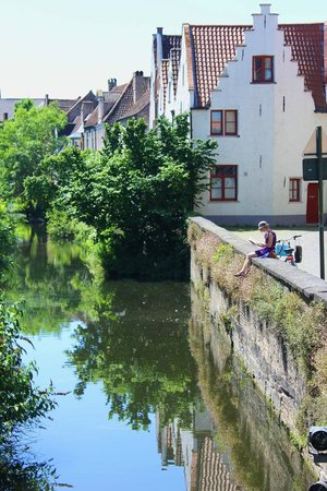 Your Bruges Tours: A view at one of the stops on the walk