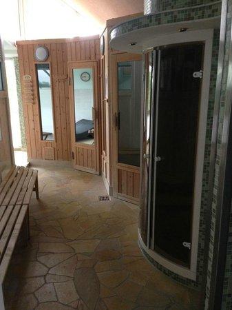 Best Western Premier Hotel An der Wasserburg: Сауна