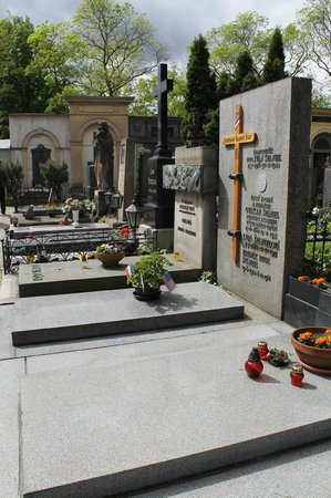 Monumento Cultural Nacional Vysehrad: Кладбище