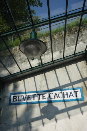 Funiculaire Evian - Neuvecelle: Cachat source station