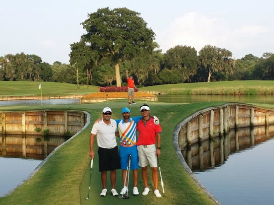 TPC at Sawgrass Stadium Course : 17... enough said!