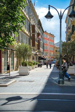 Hotel Boreal: Rue de l'hôtel