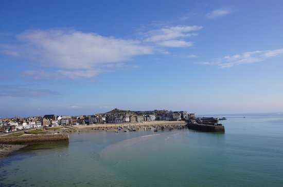 Trevose Harbour House: view from the suite