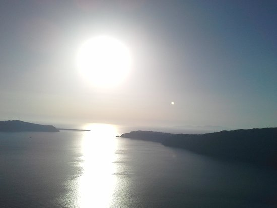 Caldera's Memories: Sunset over Oia