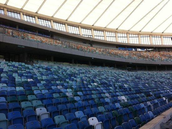 Moses Mabhida Stadium: The stadium's fallen silent .... for now!