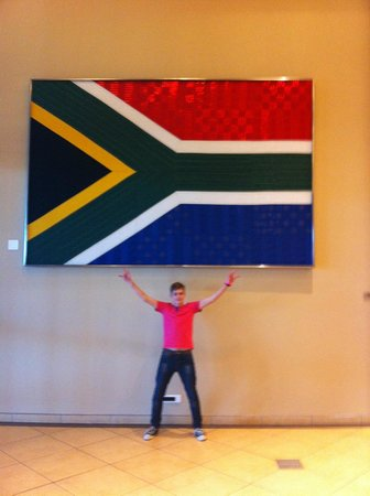 Moses Mabhida Stadium: Wave your flag! Proudly South African