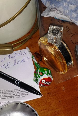 Domina Coral Bay Prestige Hotel: scrivania