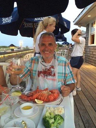Oakland's Restaurant & Marina: Lobster Stuffed excellent :-)