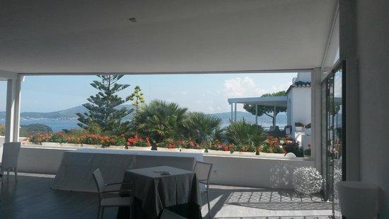 Cala Moresca: panorama