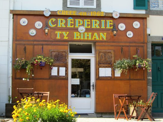 Crêperie Ty Bihan : Devanture Restaurant