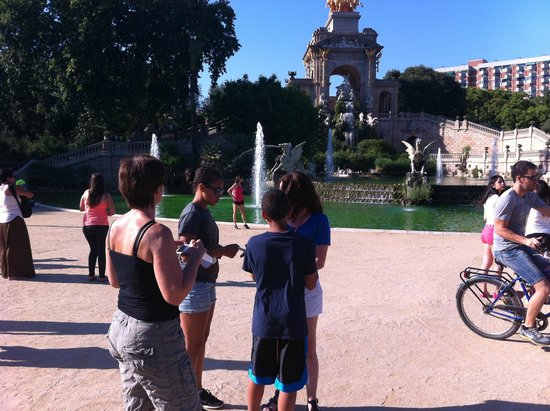 Fat Tire Bike Tours Barcelona: Parc de la Cuidadella, Barcelona during Fat Tire Bikes Tour