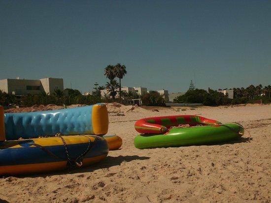 Vincci Nozha Beach Resort: giochi sulla spiaggia