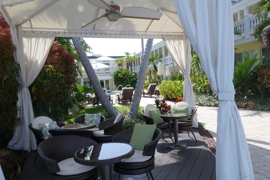 The Pillars Hotel Fort Lauderdale : Área junto ao deck