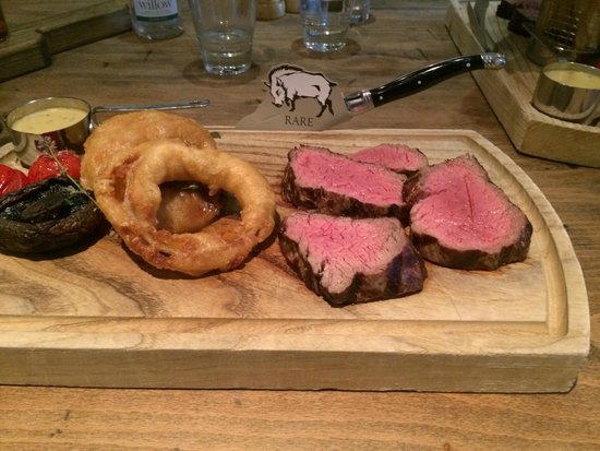 The Grill & Smokehouse Restaurant: Half of the Chateaubriand
