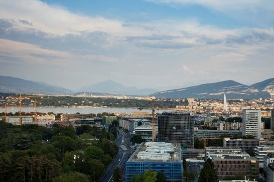 Hotel InterContinental Geneve: View from our suite