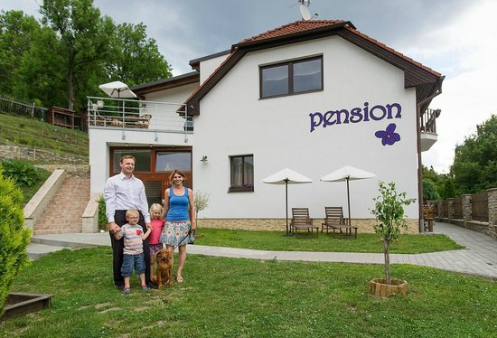 Pension Fialka : The owners family