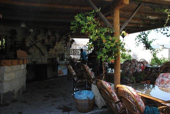 Star Cave Hotel: Terrazza