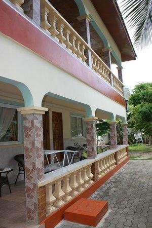 Villa Bananier : extérieur