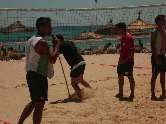 Vincci Nozha Beach Resort : gioco aperitivo