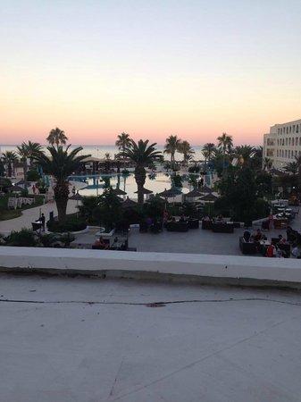 Vincci Nozha Beach Resort: panorama dalla stanza