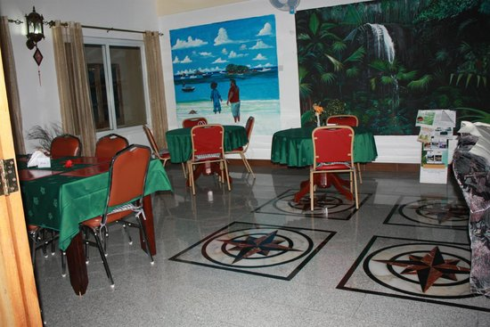 Villa Bananier : salle à manger