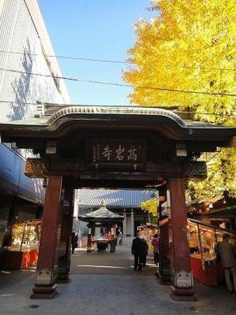 Sugamo Jizo-dori Shopping Street : 高岩寺の門