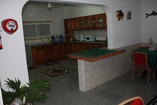 Villa Bananier : cuisine