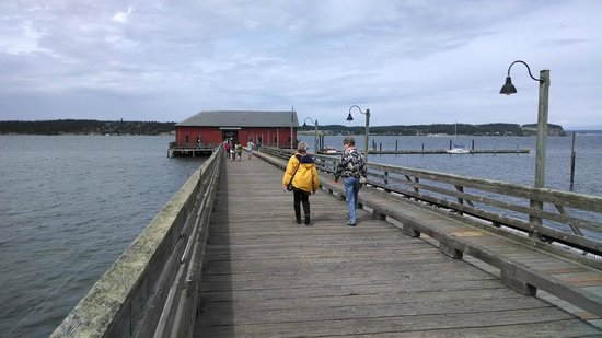 Kim's Cafe at Coupeville Pier