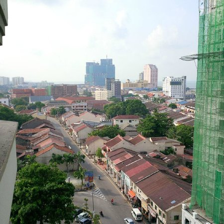Hotel Equatorial Melaka : view from room